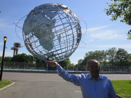 at Flushing Meadows.